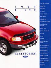 1997 Ford F-150 Truck Accessories Original Sales Brochure Catalog