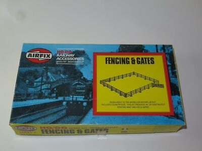 Airfix Oo/ho Model Railway Kit Fencing & Gates In Type 6a Box