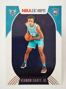 Panini Hoops 2020-21 N20 NBA Rookie RC #214 Charlotte Hornets Vernon Carey Jr.