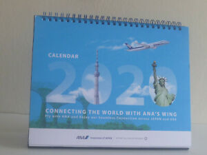 Exclusive-2020-ANA-Japan-Airlines-Table-Desk-Monthly-Calendar