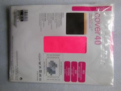 neonfarbene Feinstrumpfhose Hudson Cover 40 Grösse 40-42 blickdicht mit giveawa
