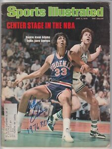 Alvan Adams Signed June 7, 1976 Sports Illustrated  with B&E Hologram