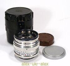 Russian Jupiter-3 1,5/50 mm lens M39 Zorki Leica M39 mount. Excellent.№7501496
