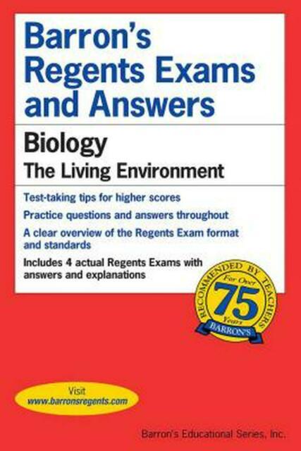 Barron's Regents NY Ser.: Regents Exams and Answers ...