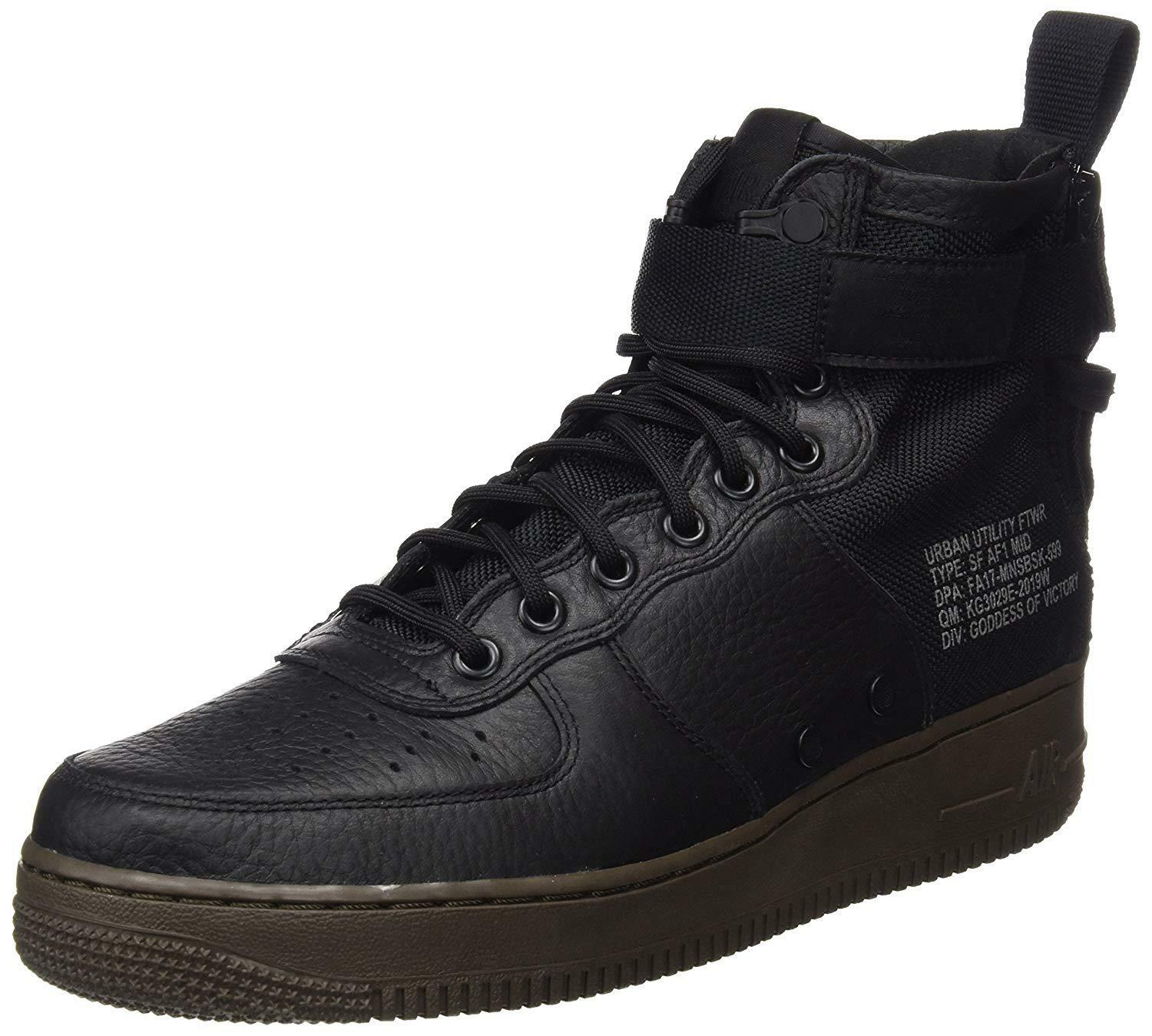 NIKE Men's SF AF1 Mid Lifestyle shoes 917753 002 size 9.5 New in the box