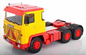 Scania-LBT-141-1976-gelb-rot-1-18-ROAD-KINGS-180015-Astran-LKW-Orient-Transporte