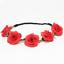 Festival Hairband Flowers Crown Roses Girls Children/'s Communion Children