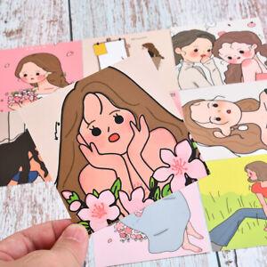 Cartes de peinture à chaud Fleurs séchées Pendule Chambre Décoration Stickers
