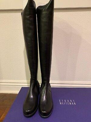 Knee Boots Black Napa NIB   eBay