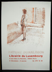 Poster-Library-Of-Luxembourg-c1970-Antony-Donaldson-Naked-Woman