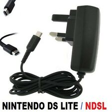 MAINS WALL CHARGER ADAPTER POWER SUPPLY PLUG FOR NINTENDO DS LITE NDS DSL 'NDSL