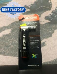 ZERO12 TELESCOPIC MINI HAND BICYCLE PUMP PRESTA /& SCHRADER COMPATIBLE