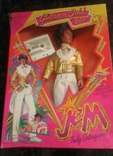 Jem And The Holograms Glitter N Gold Rio Doll Hasbro 80s vintage complete in box