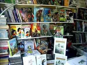 LOT DE BD  DESTOCKAGE  de 25000 BD divers éditeurs  neuf