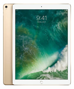 Apple iPad Pro 2nd Gen. 64GB, Wi-Fi, 12.9in - Gold (CA)