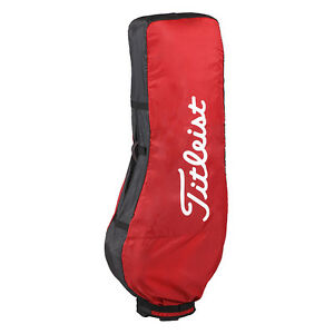 Titleist-Japan-Golf-Travel-Caddy-Carry-Bag-Case-Cover-AJTC7-New-Black-Red
