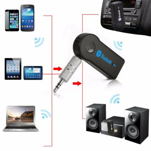 2017 Handsfree Car Bluetooth Music Universal 3.5mm Streaming A2DP Aux Adapter