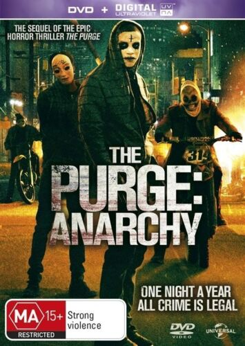 1 of 1 - The Purge: Anarchy (DVD, 2014) // No Ultraviolet code