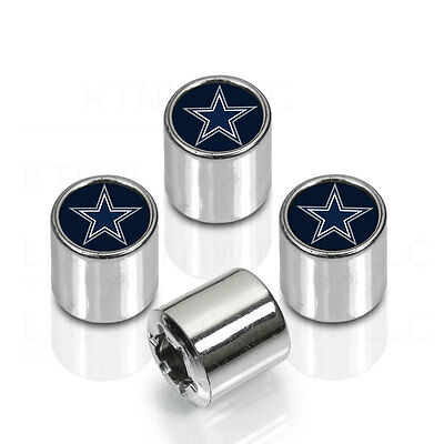 Brand New NFL All Teams Car Truck SUV Van Chrome Finish Tire Valve Stem Caps