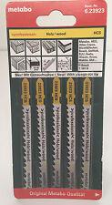 METABO 6.23923 BOSCH JIGSAWBLADES FOR WOOD CLEAN CUT T101D