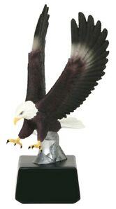 Large-Strike-Eagle-Trophy-or-Award-Statue-Figurine-office-decor