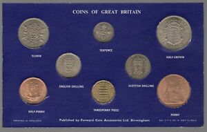 1964-Elizabeth-II-Coins-Of-Great-Britain-Set-Coin-Sets-Pennies2Pounds