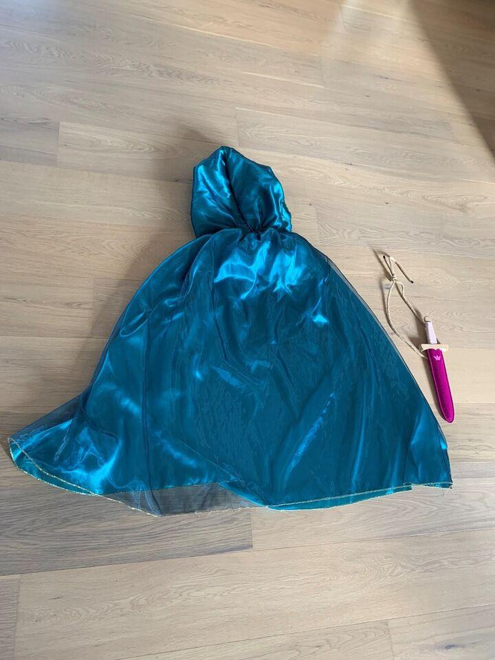 """Udklædningstøj, Kappe med """"kniv"""" af træ, Creative"""