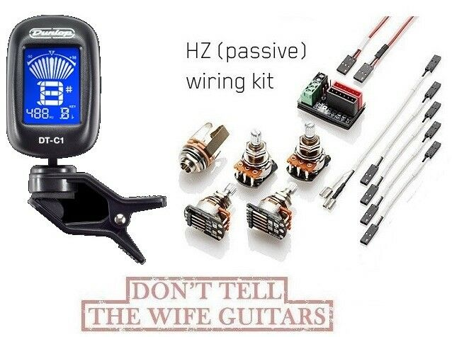 emg 1 or 2 pickups hz passive conversion wiring kit ebay rh ebay com emg solderless wiring kit 3 way switch emg solderless wiring kit les paul