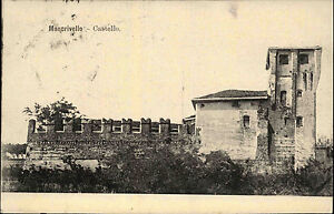 Moncrivello-Region-Piemont-Italien-s-w-Postkarte-1910-gelaufen-Castello-Burg