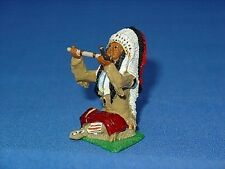 MKL Models Indian Chief With Pipe of Peace  IND23