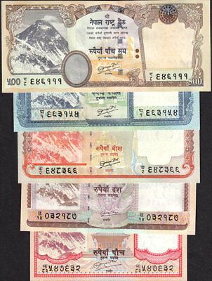 NEPAL 2010 Rs 500 EVEREST BANKNOTE pick 66b w//sign #19 date NOT printed UNC