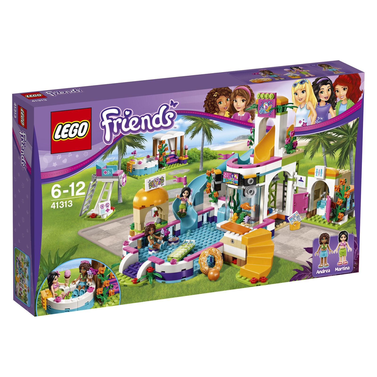 LEGO® LEGO® LEGO® Friends 41313 Heartlake Freibad, 589 Teile, ab 6 Jahre NEU OVP cfb526