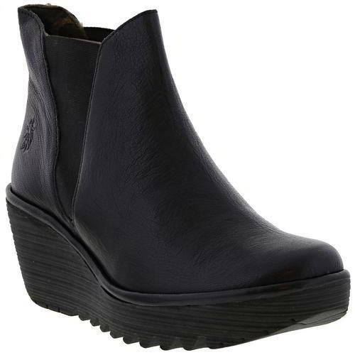 London Femmes Fly Bottes Compens Plateforme Yoss Hqd8dP
