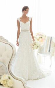 Spitze Mermaid Brautkleid Hochzeitskleid Kleid Braut Babycat collection BC802