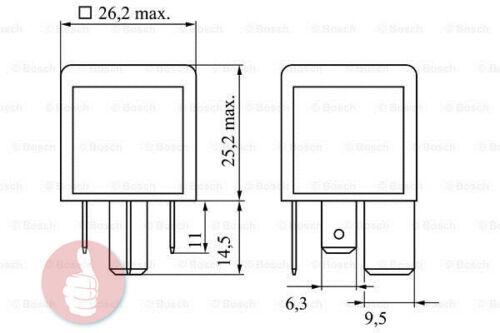 Bosch Relais 0986332002