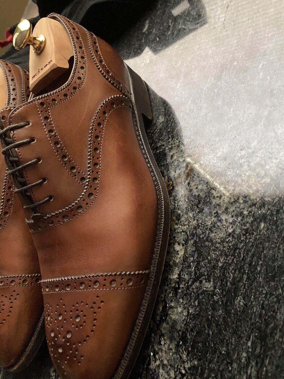 Kiton 40.5 Italy /10US Men's Bench made Shoes