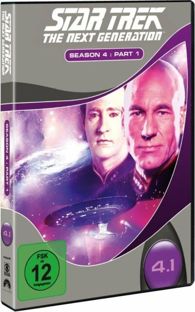 STAR TREK: THE NEXT GENERATION, Season 4.1 (3 DVDs) NEU+OVP