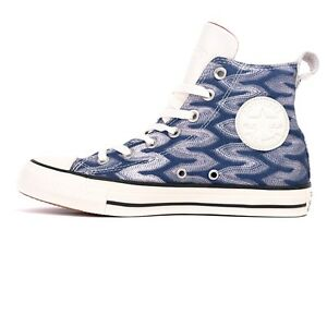 dc8109fb476b29 CONVERSE MISSONI ALL STAR CHUCK TAYLOR HI MEN 9.5   WOMEN 11.5 SHOES ...