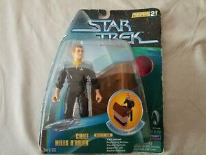 Star-Trek-Chief-Miles-O-039-Brien-Warp-Factor-Series-2-Action-Figure-New