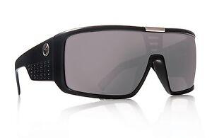 f8b9b1b8f1 Dragon DOMO Matte Black w/ Silver Ion Sunglasses 22487-049 - Free ...