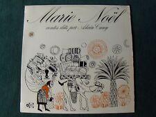 MARIE NOEL, 4 contes dits par ALAIN CUNY - LP 1970's UNIDISC UD 30125 Auxerre