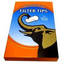 Old Holborn Pocket Extra Slim Filter Tips 5.7mm ***multiple variations***