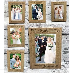 Wedding-Photo-Frame-Mother-Father-Of-Bride-Gift-Bridesmaid-Mr-Mrs-Engraved-Wood