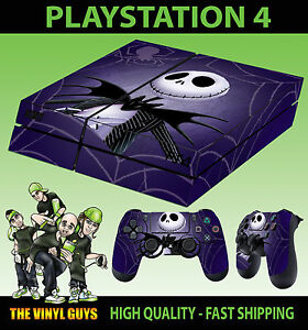 image is loading ps4 skin nightmare before christmas jack pumpkin sticker - The Nightmare Before Christmas Games