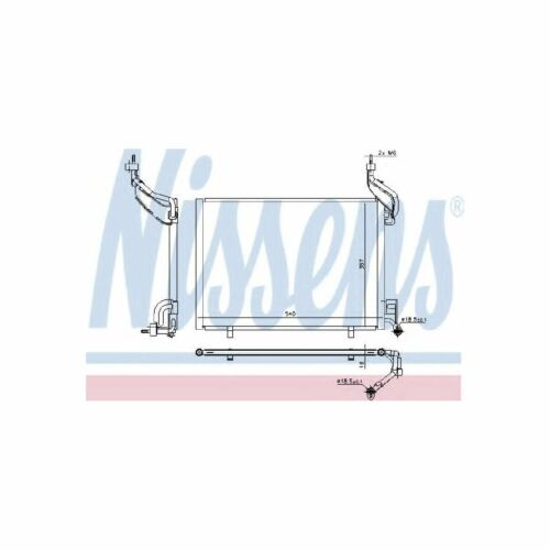 940540 Genuine Nissens A//C Air Con Condenser