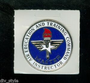 Master-Instructor-Badge-Air-Education-amp-Training-Command-surplus-new-condition