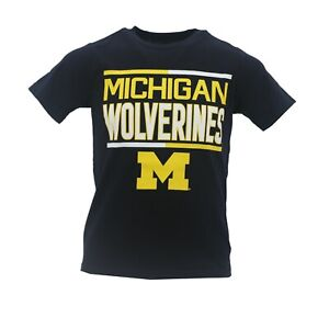 Michigan Wolverines Official NCAA Apparel Kids Youth Size T-Shirt New NO Tags