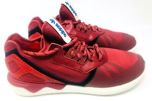 huge discount 3c320 6b3f2 Details about Men's Red Adidas Tubular Runner Sz 11 M Red Reptile Running  Shoes Sneakers