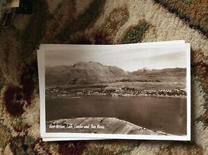 T2-1-postcard-unused-r-p-fort-william-loch-linnhe-and-ben-nevis