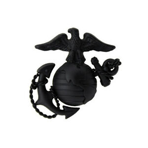 USMC Marine Corps Cap Device Pin Dress Anodized Enlisted  EGA